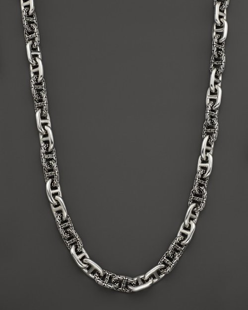 Classic Chain Anchor Rode Link Necklace by John Hardy in John Wick