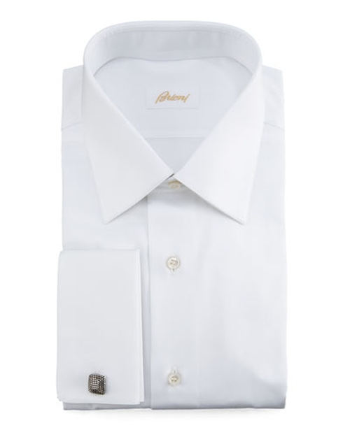 French-Cuff Dress Shirt by Brioni in Ballers - Season 1 Episode 9