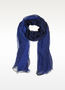 Double Chiffon Silk Stole Scarf by Laura Biagiotti in The Second Best Exotic Marigold Hotel