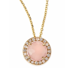 Sapphire Pendant Necklace by Kalan by Suzanne Kalan in The Boy Next Door