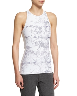 Printed-Front Racerback Sport Tank by Alala in Shadowhunters