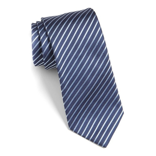 Stripe Silk Tie by Hugo in House of Cards - Season 4 Episode 6