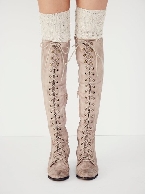 Joe Lace Up Boots by Jeffrey Campbell for Free People in Pretty Little Liars - Season 6 Episode 10