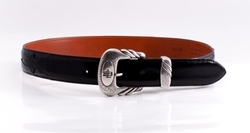 Goat Leather Belt by Lucchese in We Are Your Friends