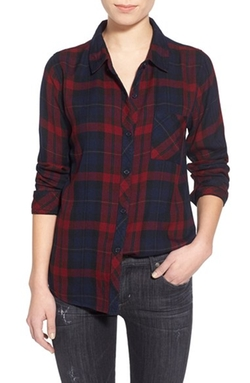 'Hunter' Plaid Shirt by Rails in Master of None