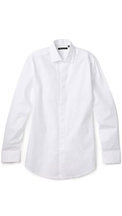 Dover Tuxedo Shirt by Theory in The Gunman