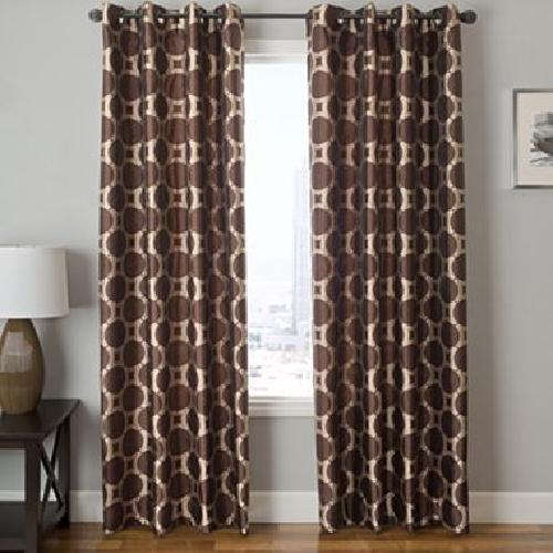 Edison Circle Grommet-Top Curtain Panel by JCPenney in Neighbors