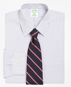 Milano Fit Pencil Stripe Dress Shirt by Brooks Brothers in The Blacklist