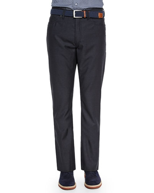 Wool Five-Pocket Pants by Ermenegildo Zegna in Life