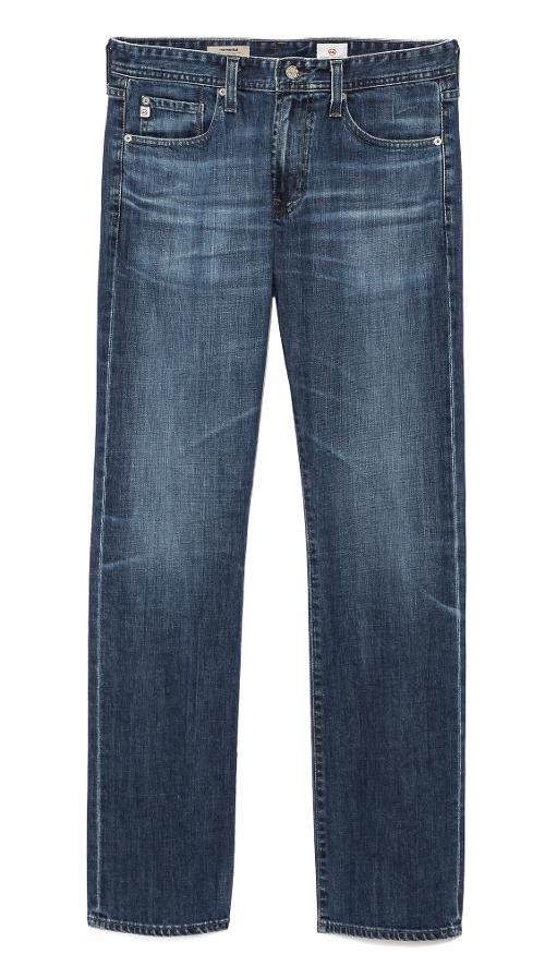 Protege Straight Leg 12.5oz Jeans by AG Adriano Goldschmied in New Year's Eve
