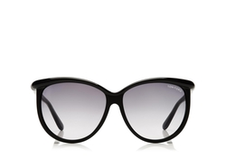 Josephine Oversized Soft Round Sunglasses by Tom Ford in Ballers