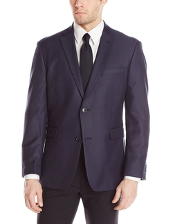 Micro-Check Sportcoat by Tommy Hilfiger in Rosewood