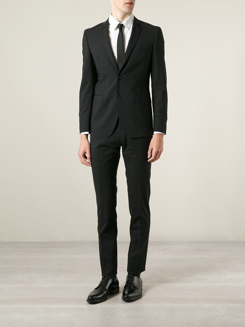 Classic Two-Piece Suit by Tonello in Southpaw