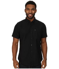 Ace Oxford Short Sleeve Shirt by Hurley in Begin Again