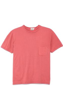 Pocket Crew T-Shirt by Faherty in Dumb and Dumber To
