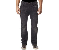 Driven Straight-Fit Super Black Jeans by Buffalo David Bitton in The Best of Me