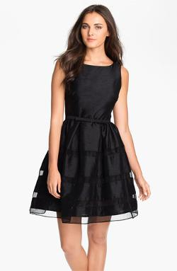 Dresses Tonal Stripe Fit & Flare Dress by Taylor in The Fault In Our Stars