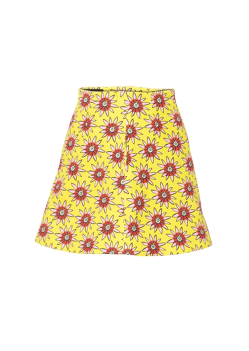 Dolly Yellow Skirt by House of Holland in Me Before You