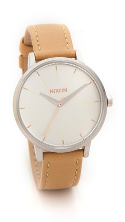 Kensington Leather Watch by Nixon in McFarland, USA