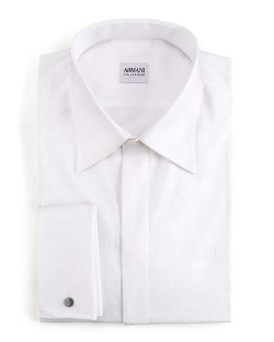 Basic Formal Shirt by Armani Collezioni	 in Love & Mercy