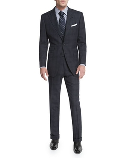 O'connor Base Windowpane Two-Piece Suit by Tom Ford in The Blacklist