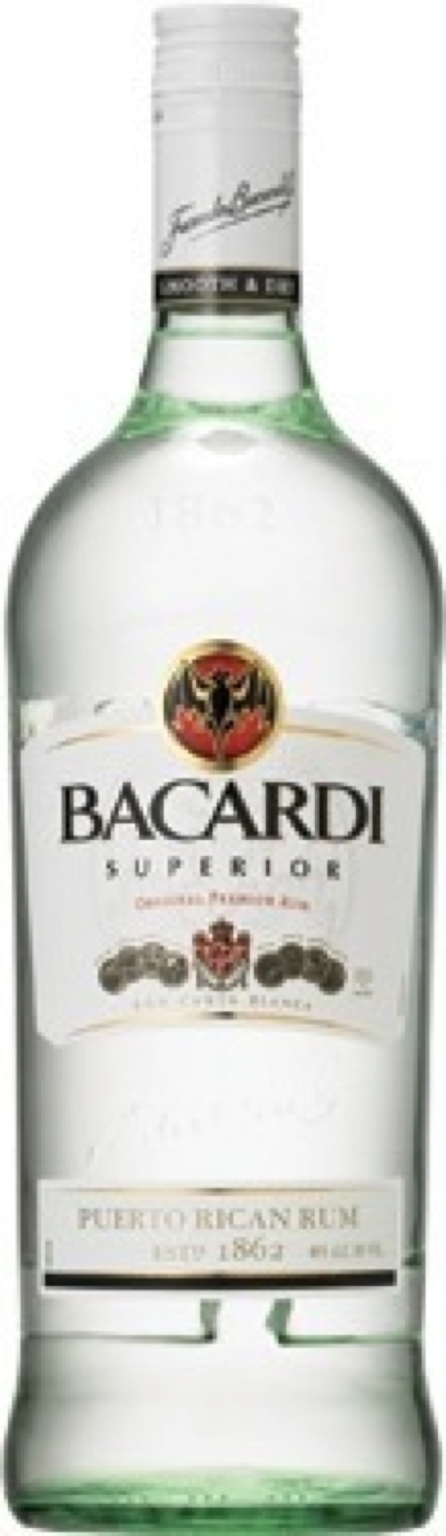 Superior Premium Rum by Bacardi in Crazy, Stupid, Love.