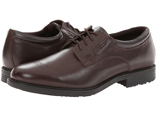 Essential Plain Toe Oxford Shoes by Rockport in Ashby