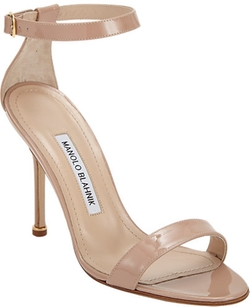 Chaos Ankle-Strap Sandals by Manolo Blahnik in Ballers