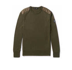 Kerrigan Quilted Shell-Trimmed Virgin Wool Sweater by Belstaff in Shadowhunters