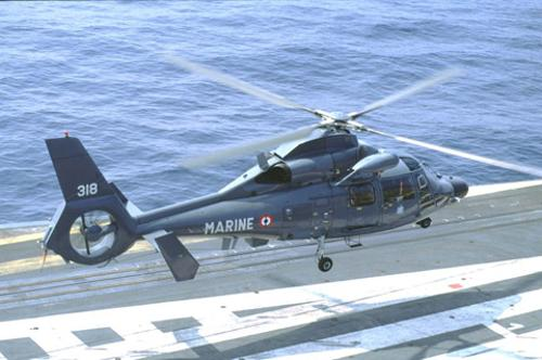 AS 565MB Panther by Eurocopter in The Expendables 3