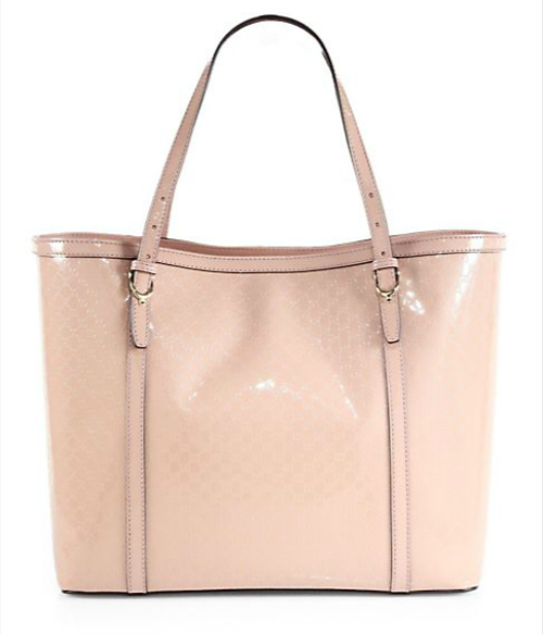 Nice Microguccissima Patent Leather Tote by Gucci in The Other Woman