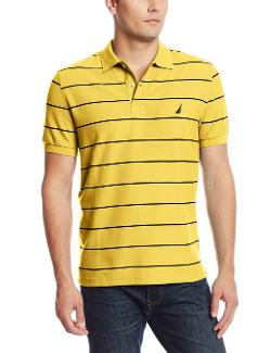 Men's New Stripe Polo Shirt by Nautica in Neighbors