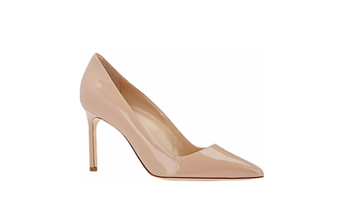 Patent Bb Pump Shoes by Manolo Blahnik in The Intern