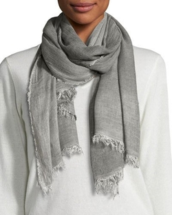 Cozy Maltinto Textured Scarf by Eileen Fisher in Big Little Lies