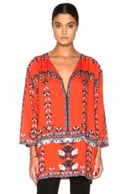Sofia Printed Story Blouse by Isabel Marant in Mistresses