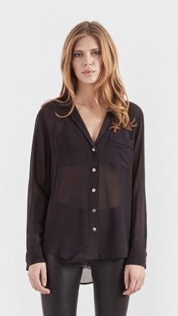 Keira Silk Shirt by Equipment in Clueless