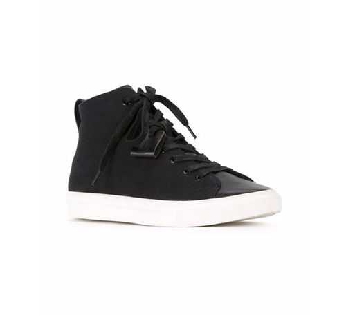 Contrast Sole Hi-Tops by HL Heddie Lovu in Chelsea - Season 1 Episode 3