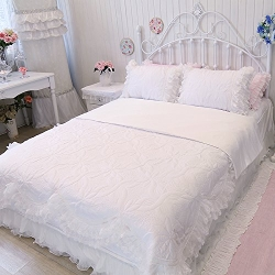 Lace Bedding Set by Fadfay in McFarland, USA