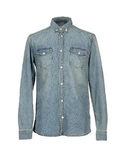 Denim shirt by WESC in Nightcrawler
