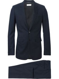 Classic Formal Suit by Saint Laurent in Scandal