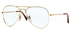 RX6049 Aviator Eyeglasses by Ray Ban in Wet Hot American Summer
