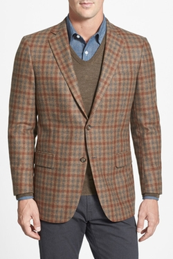Classic Fit Check Sport Coat by Hart Schaffner Marx in Ashby