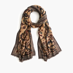 Indian Sunrise Print Scarf by Drake's in American Horror Story