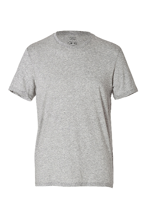 Cotton Crew Neck T-Shirt by Vince in Twilight