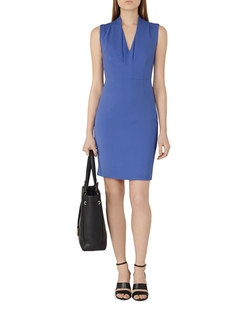 Cassia Sheath Dress by Reiss in Guilt