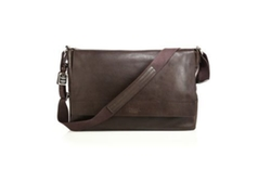 Leather East-West Messenger Bag by Shinola in The Magicians