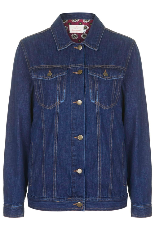 Tassel Back Denim Jacket by Native Rose in Master of None - Season 1 Episode 10
