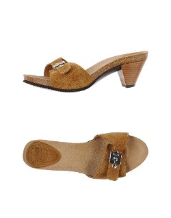 Open-toe Mule by Scholl in Couple's Retreat