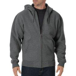 Fleece Full Zip Hoodie Jacket by Dickies in While We're Young