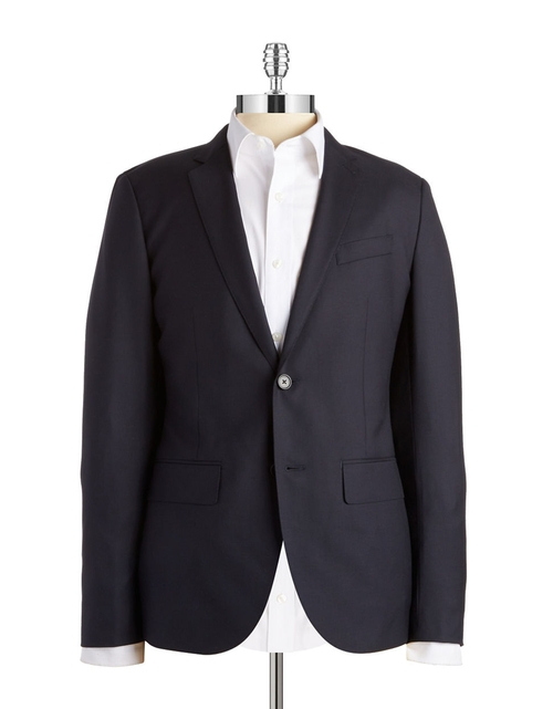 Lightweight Wool Blazer by Lucky Brand in Ashby